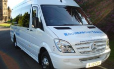 Stirling airport transfers, one of our comfortable minibuses